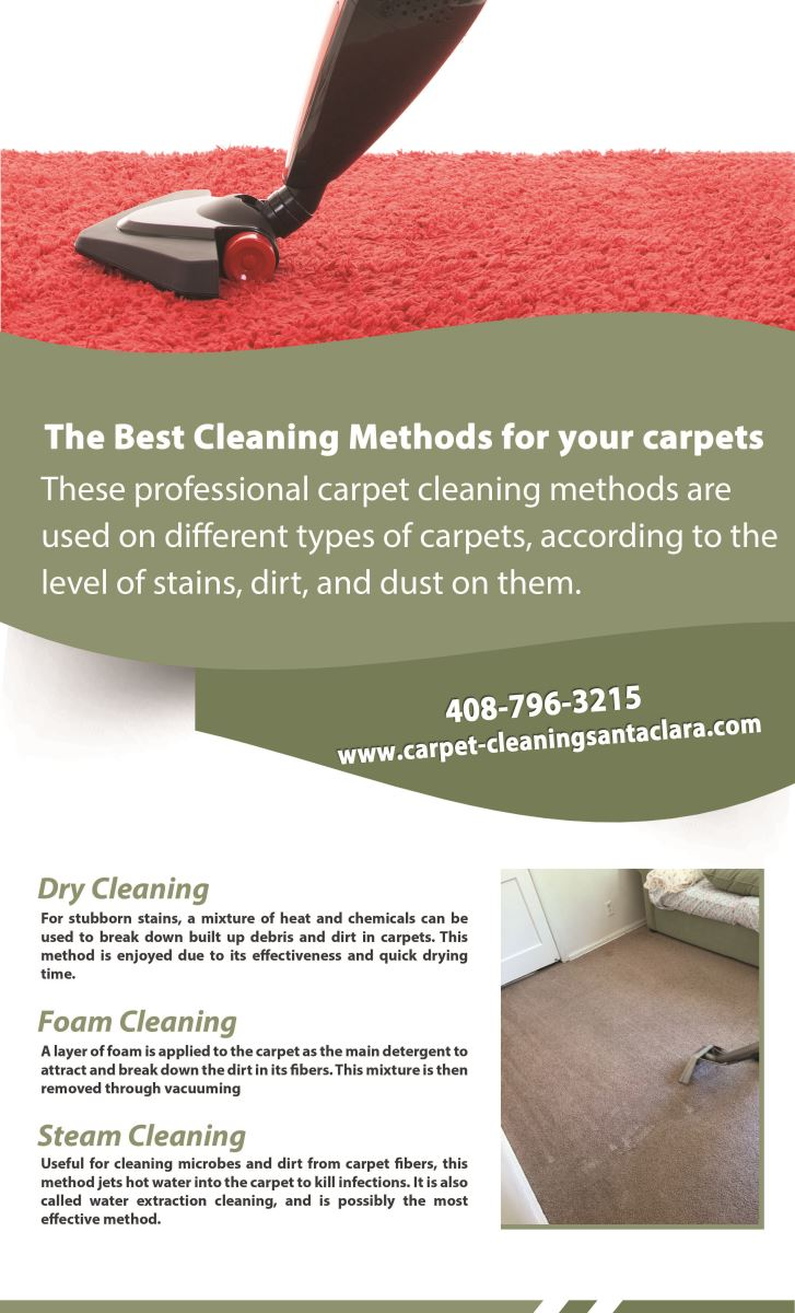 Our Infographic Carpet Cleaning Santa Clara